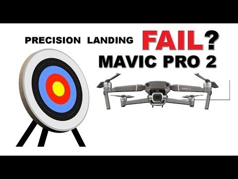 YIKES!!! The Mavic 2 Precision Landing Fail? Video