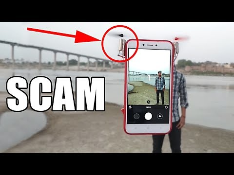 FLYING PHONE SCAM EXPOSED (then I built a REAL one)