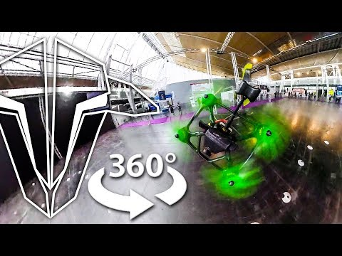 """""""Insta360 ONE"""" on a racing drone – VR 360 VIDEO"""