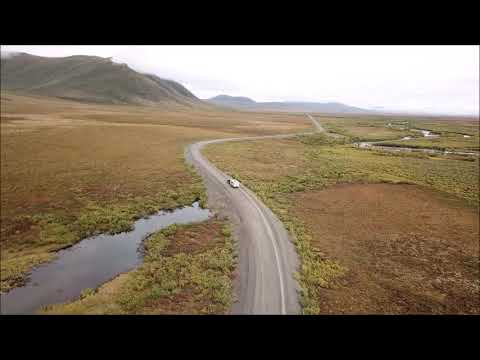 Dempster Highway drone Video