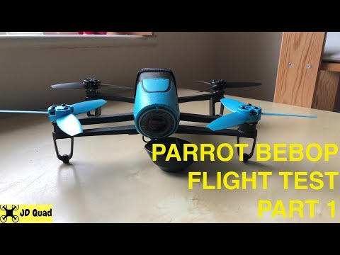 Parrot Bebop With Skycontroller Drone Flight Test Video