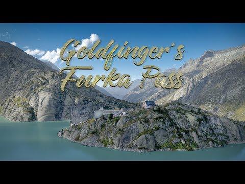 James Bond 007 Locations: Goldfinger's Furka Pass | 6K Drone Video UHD