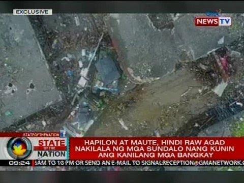 Drone video ng pag-recover sa mga bangkay nina Isnilon Hapilon at Omar Maute