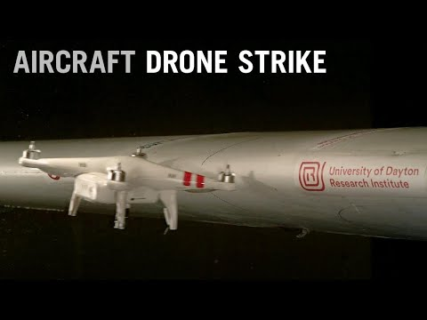 What Happens When a Drone Hits an Airplane Wing? – AINtv
