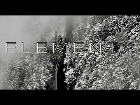 Elements | A B&W drone aerial cinematic mountain video filmed in 5K