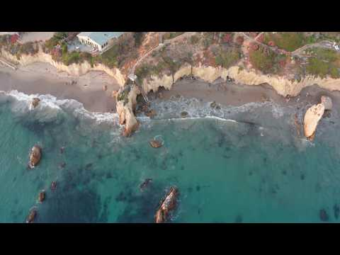 El Matador State Beach  Video 4k drone Footage   Malibu