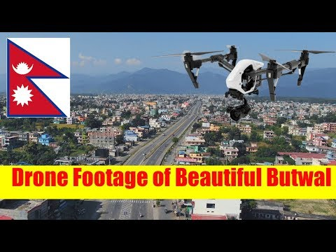Nepal Drone- Good day Butwal, Drone Video of Beautiful Butwal
