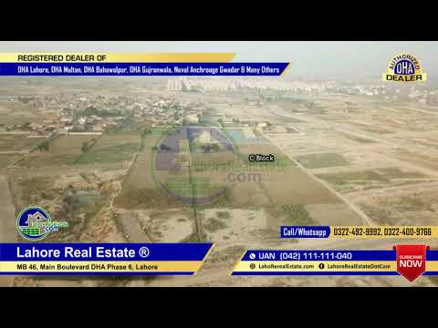 DHA Lahore Phase 9 Prism Block C & D Drone Video Latest Update November 2018