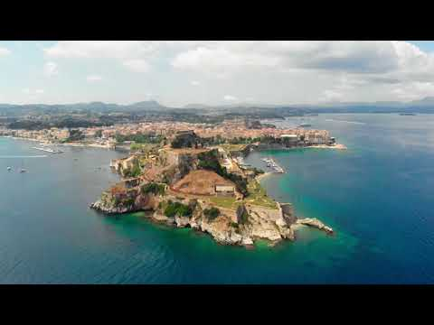 Corfu 2018 drone video 4k