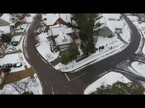 DRONE VIDEO: Yorkchester at Six Forks neighborhood in Raleigh