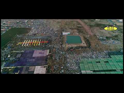 KURNOOL Ijtema Complete Full Video by Drone.