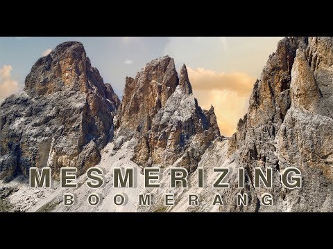 Mesmerizing Boomerang Filmed With A Drone |  6K Video | Zenmuse X7