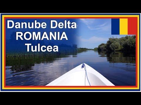 Danube River Cruise – Danube Delta in Tulcea Romania including Drone Video footage