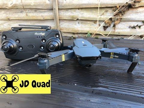 Eachine E58 Folding Quadcopter Drone Flight Test Video