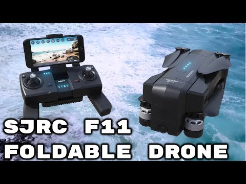 SJRC F11 Foldable GPS Drone Official Video [English]