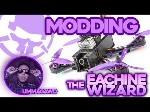 Modding the Eachine Wizard X220 Drone! – Kwad Mods