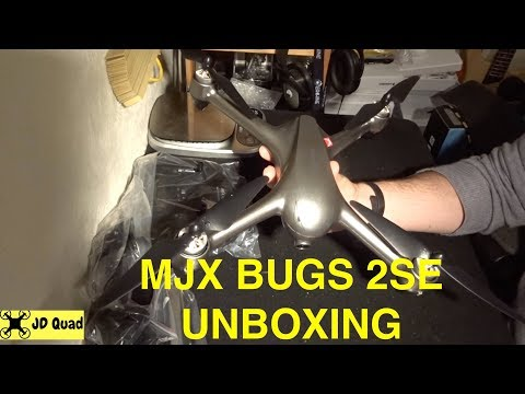 MJX Bugs 2 SE 5G GPS Quadcopter Drone Unboxing Video