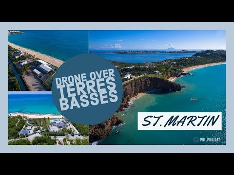 Drone Video over Terres Basses, St. Martin