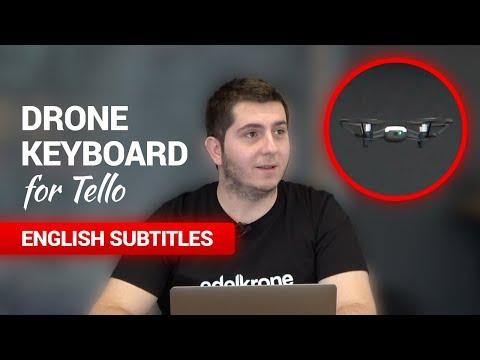 Dji Ryze Tello Drone Klavye İncelemesi ve edelkrone Ofis Turu