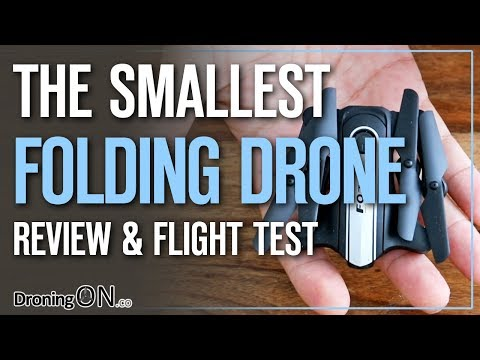 THE Smallest Folding Video Drone – FQ31/FQ777 Full Review