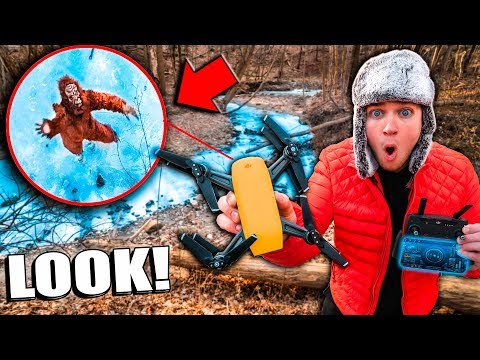 BIGFOOT Found Using SPY Gadget Drone In Real Life (Sasquatch Evidence)