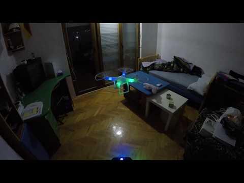 DJI drone clone flight   SMRC s10 (4k video)