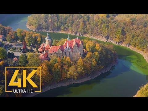 4K Polish Castles – Stunning Aerial Drone Footages of Best Castles of Poland