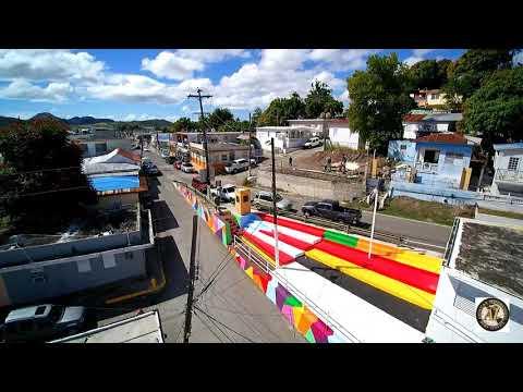 Arte La Playita, Coamo Puerto Rico  (Drone Video)