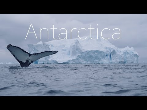 The Frozen Continent  – 4k Drone Video