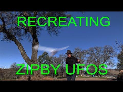 Drone Zipby UFO Video Recreations