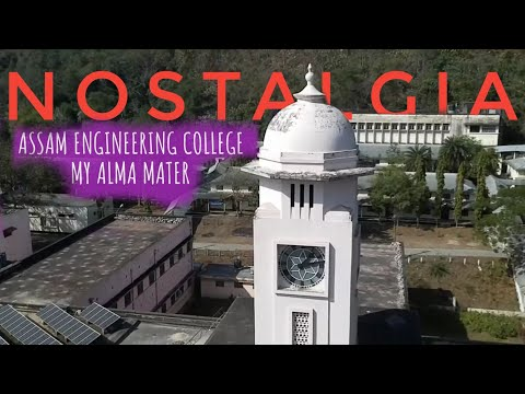Assam Engineering College – My first drone video – Simply Assamese