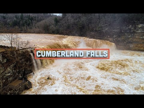 Cumberland Falls Flooding Drone Video