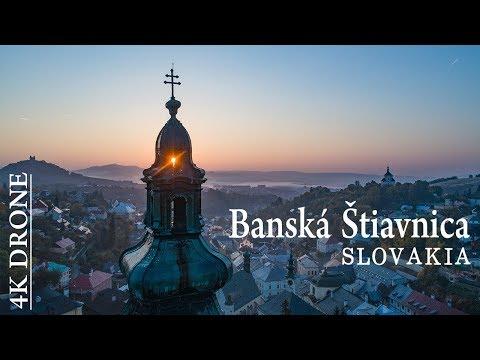 Banská Štiavnica – Slovakia 🇸🇰 Ultra HD 4K DRONE video