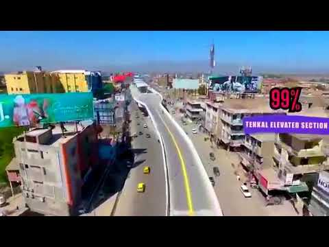 BRT Peshawar Complete Route Video By Drone | Latest Updates | April 2019