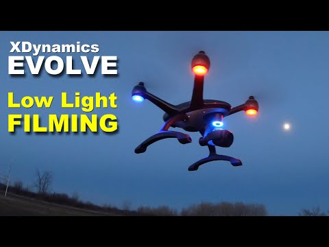 XDynamics Evolve Drone – Low Light Filming