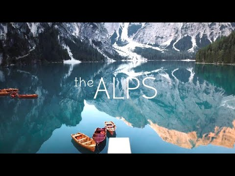 The Alps 4K   Drone & iPhone X