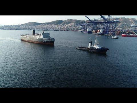 Azores Express – Ro-Ro/Passenger Ship (IMO 7207451) Aerial (Drone) Video