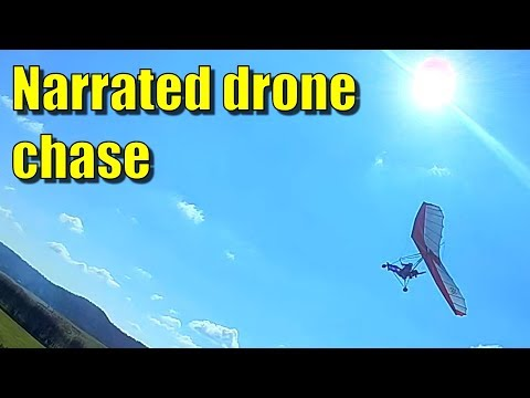Drone chase video – managing the risks
