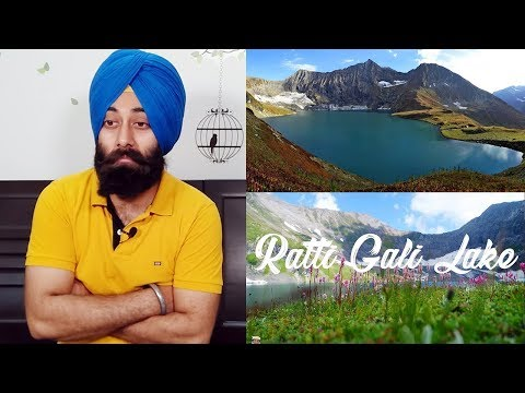 Indian Reaction on Ratti Gali Lake Drone Video The Lake of Dreams Neelam Valley AJK Pakistan