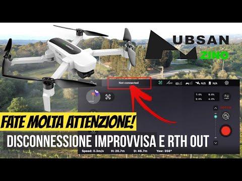 Hubsan Zino: dovete vedere questo video! DISCONNESSIONE DRONE