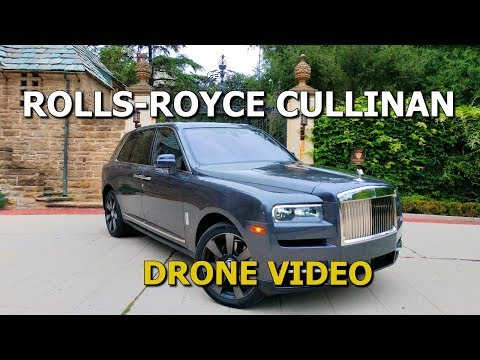 ROLLS-ROYCE CULLINAN DRONE VIDEO – 60 SECOND PREVIEW