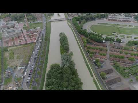 CESENA: Alluvione, ecco le immagini del drone di Teleromagna | VIDEO