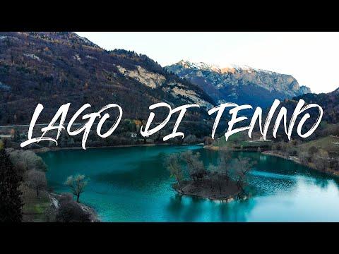 Lago di Tenno con i colori dell'autunno | Drone Video