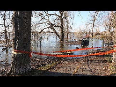 Drone and Video Footage of the Montreal Flooding in RDP / East End 2019