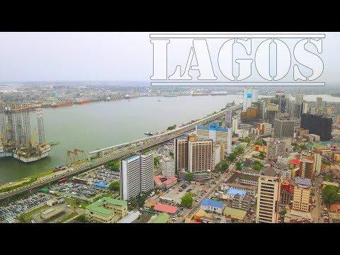 LAGOS NIGERIA – 4K DRONE VIDEO – Victoria Island, Lagos Island & Eko atlantic city (2019)