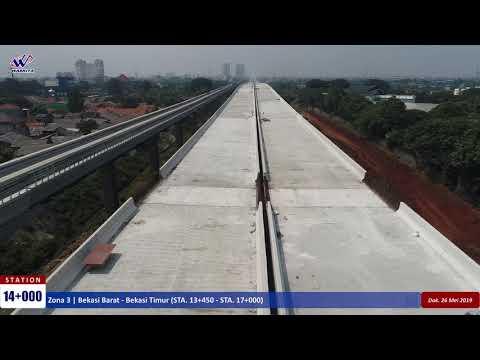 Video Drone Jalan Tol Jakarta-Cikampek II Elevated – 26 Mei 2019