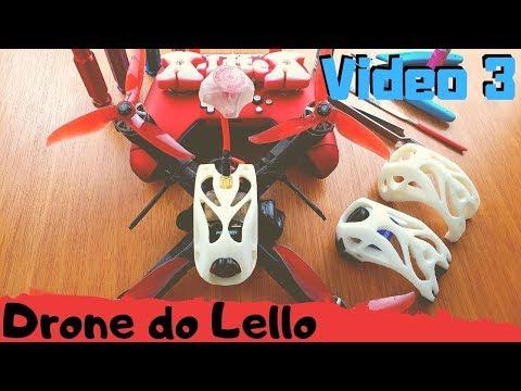 DRONE – Como montar um – QAV do Lello – video 3 de 4 – Montagem