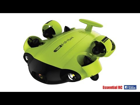 QYSEA FIFISH V6 Underwater DRONE with 4K VIDEO CAMERA FPV/VR: ESSENTIAL RC DRIVE TEST PART 1