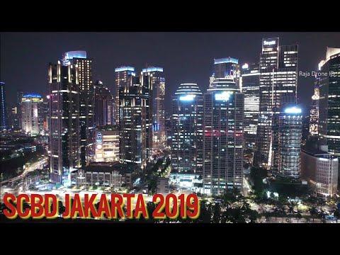 SCBD Jakarta 2019, Video Udara Malam Hari – Jakarta Drone Footage by Raja Drone ID