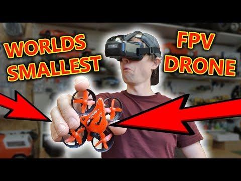World's Smallest FPV Camera Drone